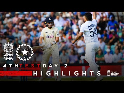 Pope Classy But India Fightback! | England v India - Day 2 Highlights | 4th LV= Insurance Test 2021