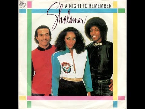 Shalamar - A Night To Remember (12 Inch) Vinyl 1982