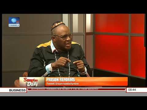 Kayode Williams Speaks On Prison Reforms Pt 1