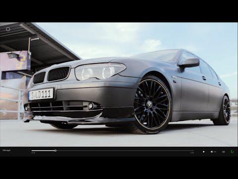 BMW 745i V8 E65 matte grey 20
