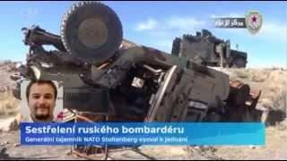 Sestřelení ruského bombardéru