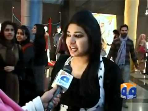 Hajvery - Hajvery University Fashion Display 2012 coverage by GEO TV.