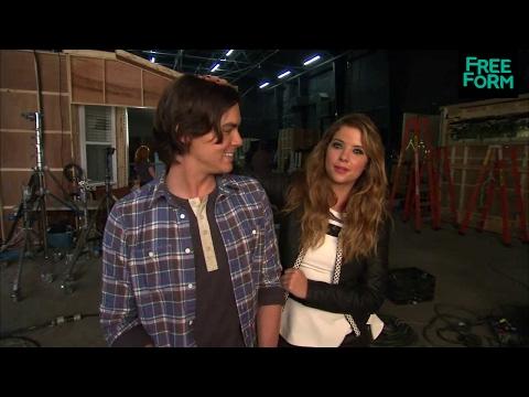 Ravenswood - Behind the Scenes w/ Tyler Blackburn & Ashley Benson | Freeform