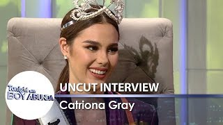 Video TWBA Uncut Interview: Catriona Gray MP3, 3GP, MP4, WEBM, AVI, FLV April 2019