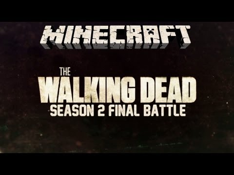The Walking Dead – Staffel 2 Final Battle – Minecraft Zombie Map – TRAILER DEUTSCH