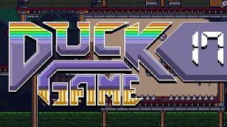 Duck Game w/ PokeaimMD, Chimp, Gator & steve SICK NEW MODS AND CUSTOMS by PokeaimMD