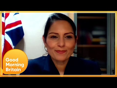 Priti Patel Is Unable to Reveal Why & How 400,000 Police Crime Records Have Disappeared | GMB