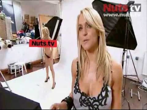 Nuts.tv – Make Me A Glamour Model: Ashley's topless photoshoot