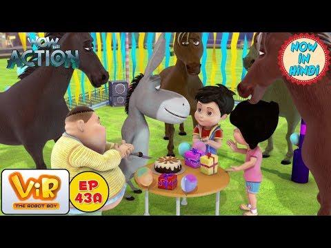 Vir: The Robot Boy | Happy Birthday Chulbul | As Seen On HungamaTV | WowKidz Action
