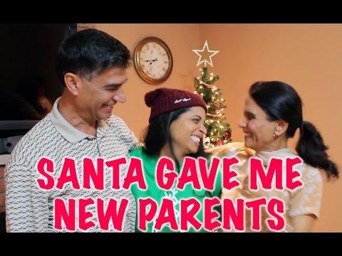 Santa Gave Me New Parents (ft. My Parents)