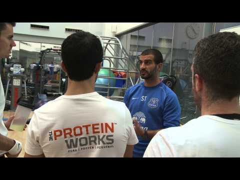 journalists - Find out how The Protein Works are helping Everton's players stay fit.