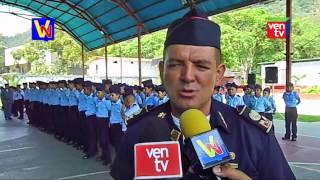 Brigada Infantil-Juvenil de los Bomberos en Trujillo realizan graduación y ascensos