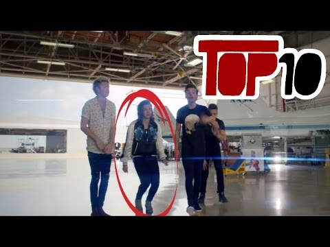 Top 10 Things You Missed In One Direction - Drag Me Down 2015 Music Video