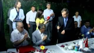 Zeytinburnu Kaymakamı Mustafa Dündar'a veda yemeği
