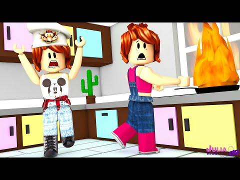 Roblox - FOGO NA COZINHA (Dare To Cook)