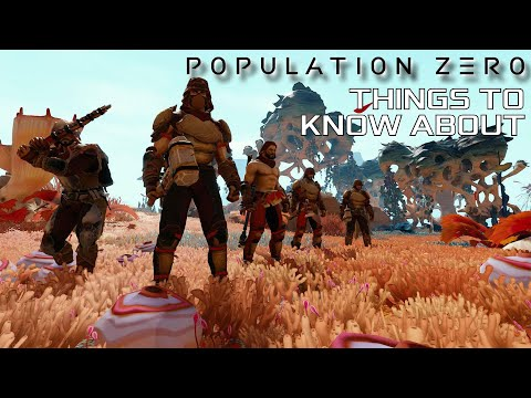 Population Zero. Sci-Fi Open World Survival MMO Theme Park from Enplex | Things to know about
