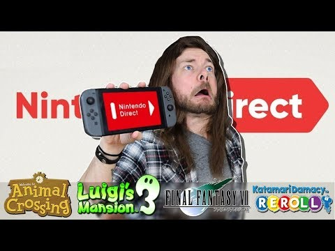 Let's Talk About THAT Nintendo Direct (видео)