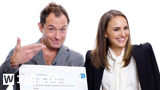 Video Natalie Portman & Jude Law Answer the Web's Most Searched Questions | WIRED MP3, 3GP, MP4, WEBM, AVI, FLV Maret 2019
