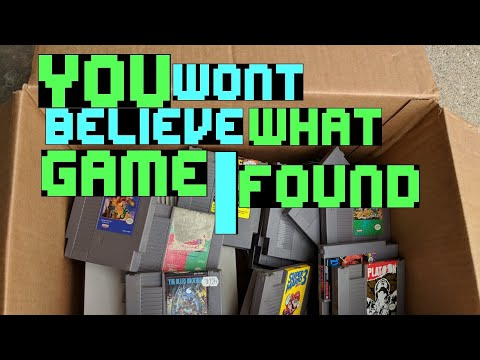 My best single video game find of 2018!! Ultra RARE NES game! Season 2 Episode 32