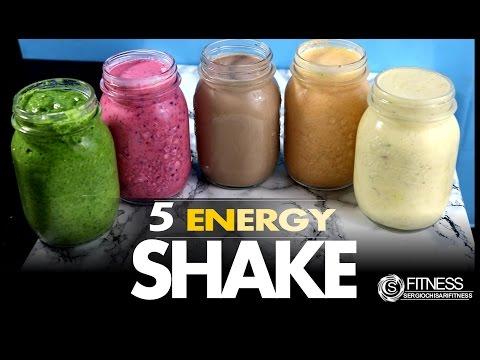 5 ricette per frullati pieni di energia!
