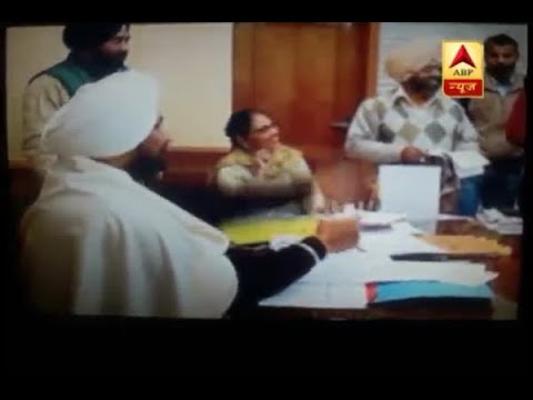 Punjab Minister Charanjit Singh Channi flips coin to decide posting of two lecturers