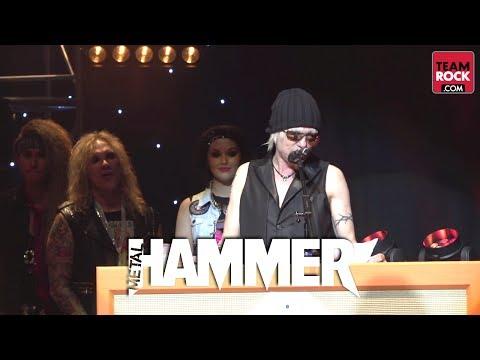 Metal Hammer Golden Gods 2014 - Metal Icon Award - Michael Schenker | Metal Hammer