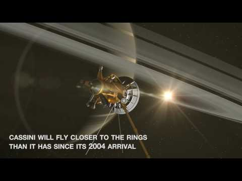 NASA Video: Cassini's High Flying, Ring Grazing Orbits - Close Encounters With Saturn