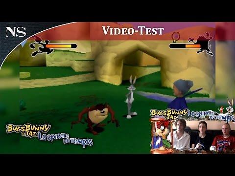 Bugs Bunny & Taz : La Spirale du Temps Playstation