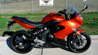 7. 2011 Kawasaki Ninja 650R Candy Burnt Orange