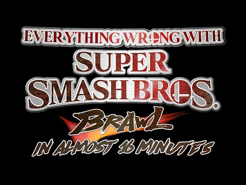 Everything Wrong With Super Smash Bros. Brawl in almost 16 minutes