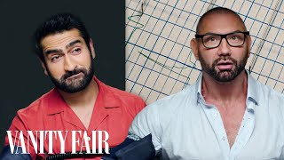 Video Dave Bautista and Kumail Nanjiani Take a Lie Detector Test | Vanity Fair MP3, 3GP, MP4, WEBM, AVI, FLV Juli 2019