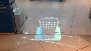 Visual Retale - Celcom Bluecube 3D Floor Projection
