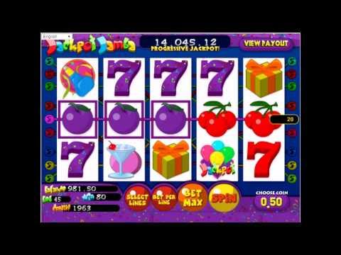 Учимся играть в игровой автомат Jackpot Jamba
