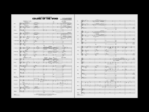 Colors of The Wind Sheet Music by John Higgins (SKU: 00862112 ...
