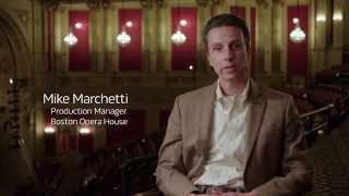 Boston Opera House & Bose RoomMatch