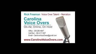Rick Freeman Voice Over Demo 2017