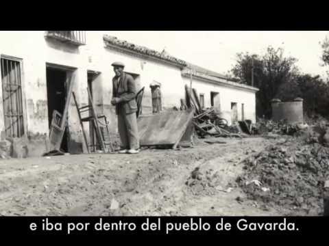 Los efectos de la riada de 1982 en Gavarda