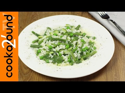 risotto primavera - ricetta