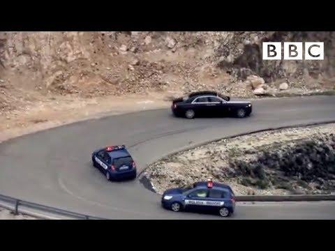 top gear -inseguimento della polizia albanese