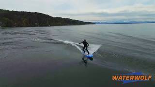 The latest video from the Waterwolf Electric Surfboard