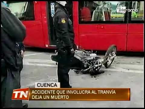 Accidente que involucra al tranvía deja un muerto