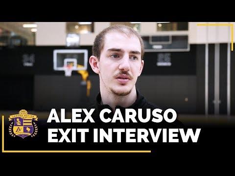 Video: Lakers Exit Interviews 2018: Alex Caruso