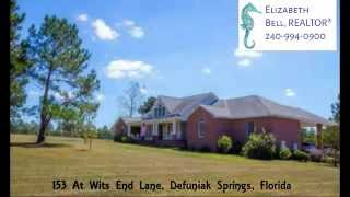 Defuniak Springs (FL) United States  city photos : 153 Wits End DeFuniak Springs Florida