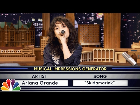 Wheel of Musical Impressions with Alessia Cara (видео)