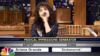 Video Wheel of Musical Impressions with Alessia Cara MP3, 3GP, MP4, WEBM, AVI, FLV Juni 2018