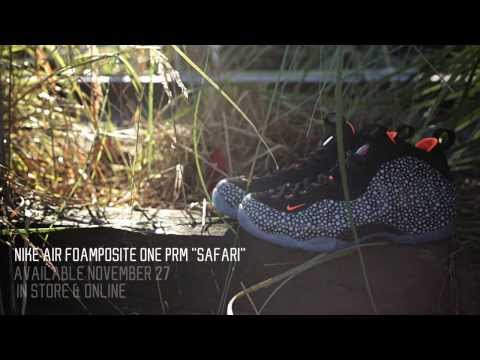 Nike Air Foamposite One Premium – Safari | Available Now