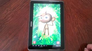 Talking Manny Monkey YouTube video
