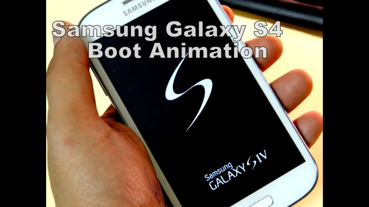 Descargar Samsung Galaxy S4 Boot Animation For Andriod para Celular  #Android