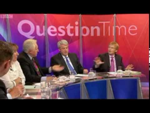 NHS - GP Dr Phil Hammond attacks health secretary Andrew Lansley's anti-NHS bill on Question Time, Thursday, October 13th 2011.