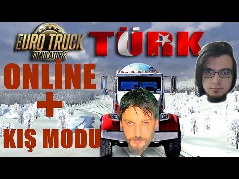 euro - Euro Truck Simulator 2'nin türkçe online multiplayer oynanış videosunda Garbarius'dan cem ile birlikte winter mod(kar kış modu)'nu ilk kez oynuyoruz.. İyi seyirler :)